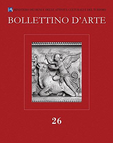 Bollettino d'Arte 26, 2015. Serie VII-fascicolo n. 26 (Italian Edition)