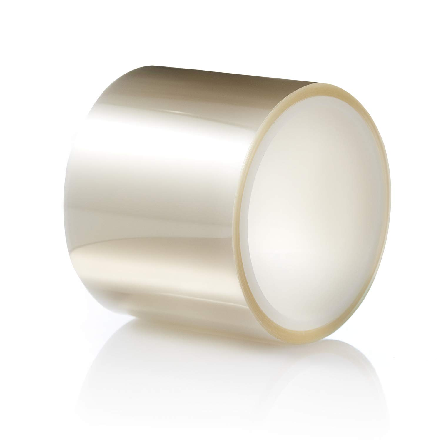 TIERRAFILM Clear Acetate Roll 3 inch High - Cake Collar for Chocolate and Cake Decorating - Used by Top Pastry Chefs (3'' x 96 feet 125 micron)
