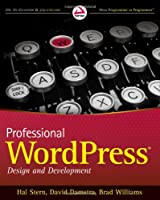 Professional WordPress Design And Development Front Cover