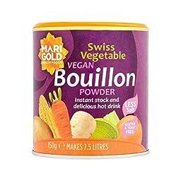 Marigold Less Salt Swiss Vegetable Bouillon 150g - Pack of 4