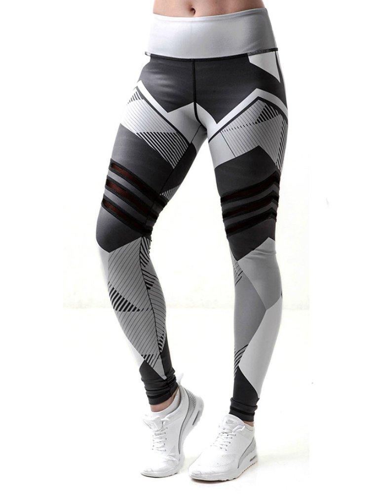Imposes Classics Frauen Streifen Digitaldruck Sport Leggings Yoga Fitness Hosen Pants Jogginghose
