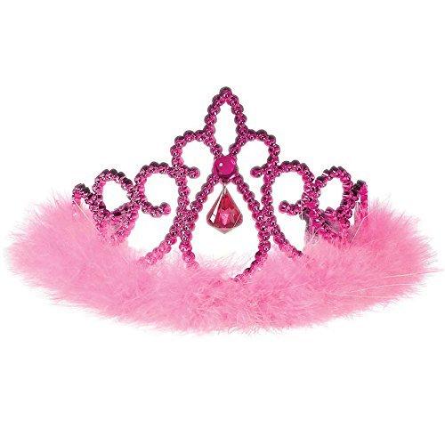 Amscan Costume Accessory Pink Sparkle Tiara - Child, Multicolor ()