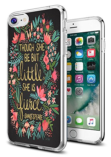 iPhone 8 Case Shakespeare,iPhone 7 Case Shakespeare,Gifun [Anti-Slide] and [Drop Protection] Clear Soft TPU Premium Flexible Protective Case for Apple iPhone 8/iPhone 7 - Shakespeare