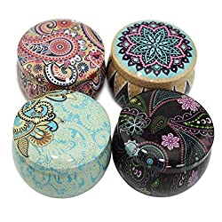 Leiqin DIY Candle Making Jars,Candle Tin,Small Emp