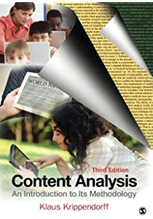 content analysis an introduction to its methodology third edition pdf