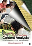 Content Analysis 3rd Edition