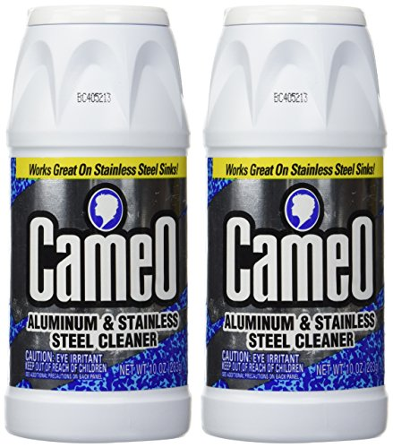 Stainless Steel Cookware Cleaner - Cameo Aluminum & Stainless Steel Cleaner - 10 oz - 2 pk