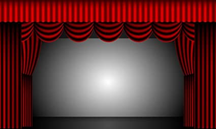 amazon com laminated 40x24 poster theatre curtains stage drapes