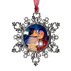 Keepsake Gift Snowflake Pendant
