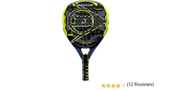 Pala de pádel Dunlop Revolution Tour 2.0 Yellow 2016: Amazon.es ...