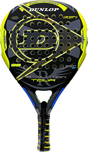 Pala de pádel Dunlop Revolution Tour 2.0 Yellow 2016: Amazon.es ...