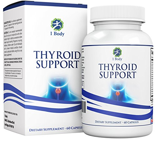 Thyroid Support Supplement Metabolism Formula