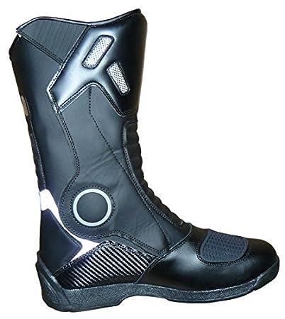 Taille 45 Noir Protectwear Bottes de moto Sport SB-11026