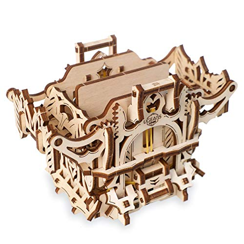 UGEARS Deck Box to Carry or Store Deck and Keep Cards Safe