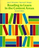 Reading to Learn in the Content Areas, Richardson, Judy S. and Morgan, Raymond F., 0534203280