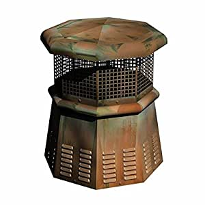 Copperfield Chimney Supply Peón Europea cobre chimenea