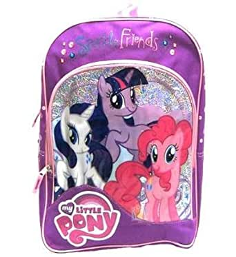 """My Little Pony Sparkle Friends 16"""" Backpack"""