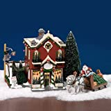 Dept 56 Snow Village Silver Bells Christmas Shop