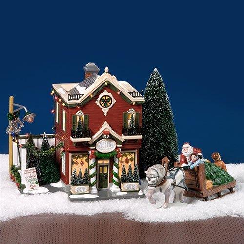 Dept 56 Snow Village Silver Bells Christmas Shop