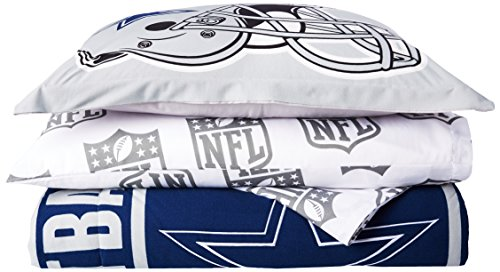 NFL Dallas Cowboys Soft & Cozy , Full, Comforter Set (7 Piece), 76