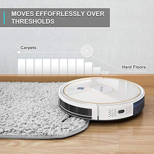 GOOVI Robot Vacuum, 1600PA Robotic Vacuum Cleaner with Wi-Fi, Super-Thin, Self-Charging Robot Vacuum Cleaner, Best for… 4
