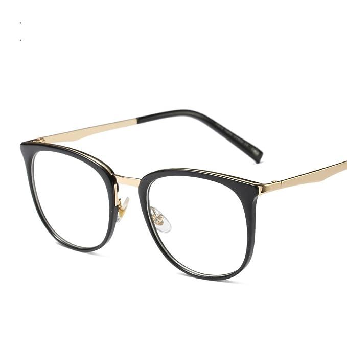 Amazon.com: Marco de anteojos, cuadrado mujer marca patas de ...