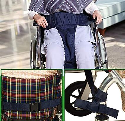 Anciano cojín pélvico Slider cinturón, silla de ruedas cinturón de seguridad arnés Correa antideslizante posicionamiento
