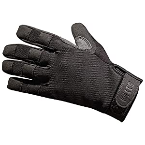 5.11 Tactical TAC A2 Tactical Gloves for Military/Shooting with TacticalTouch precision fingertips, Style 59340, Black, XX-Large
