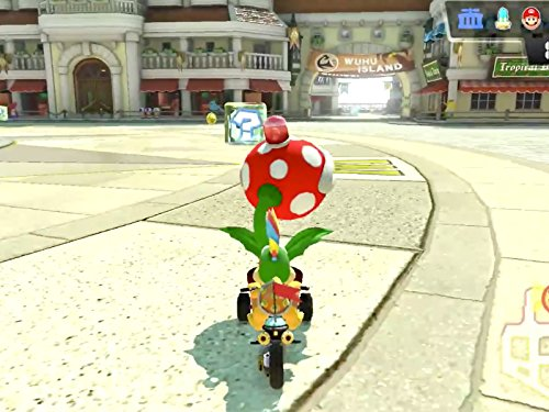 Clip: Flower Cup 150cc! Inkling Girl! (Shy Flower)