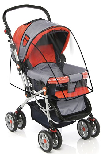Stroller-Cover-for-Rain-Wind-and-Dirt-Keep-Baby-Dry-and-Clean-When-Going-for-a-Walk-See-Thru-Guard-Fits-All-Strollers