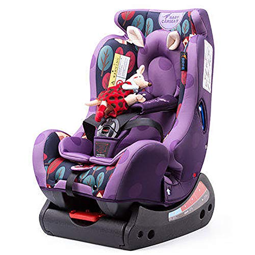 WDXIN Child Car Seat and Booster Seat 150° Oversized Lying Angle Headrest Adjustable 0-6 Years Old Baby can sit and Lie Down,C