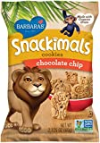 Barbara's Bakery Snackimals Cookies, Chocolate Chip, 2.125 Ounce (Pack of 18)