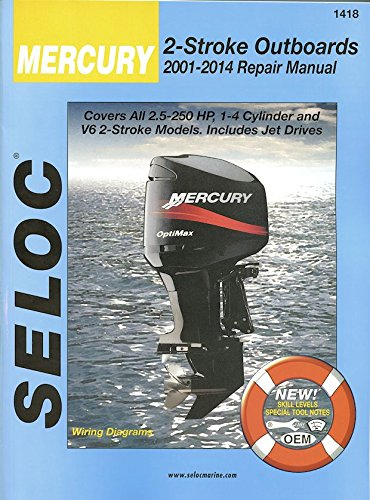 Mercury & Mariner Outboards 2001-2014 All 2 Stroke Models by Brand: Thomson Delmar Learning