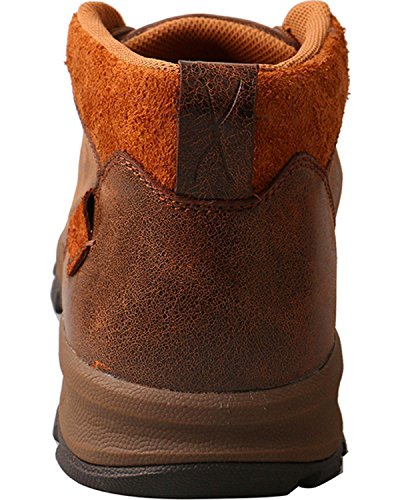 Lace Mens up Boots Waterproof Brown Brown Old Twisted Hiker X qE1t71R