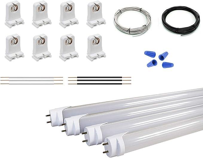 fluorescent lights wiring diagram 5 wire orilis 4 light fluorescent to led retrofit conversion kit  led retrofit conversion kit