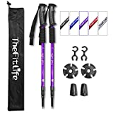 Best Hiking Poles - High Quality Nordic Walking Trekking Poles 2 Packs Review