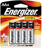 Energizer AA4 energizer max +power seal alkaline batteries (pack of 4)