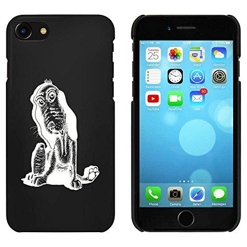 Noir 'Chien Heureux' étui / housse pour iPhone 7 (MC00074397)