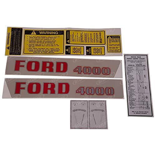 - 1115-1543 Ford/New Holland Decal Set