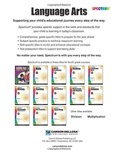 Spectrum Language Arts, Grade 4: Spectrum: 9781483812076: Amazon ...