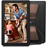 Nixplay Seed Wave 13.3 Inch Digital Wi-Fi Photo Frame W13C Black - Digital Picture Frame with Bluetooth Speakers, Motion Sensor and 10GB Storage, Display and Share Photos via The Nixplay Mobile App