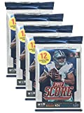 #3: 2017 NFL Score Football Cards Factory Sealed Retail Panini 4 Pack