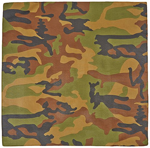 [Camo Bandana Party Accessory (1 count)] (Trailer Trash Outfits)