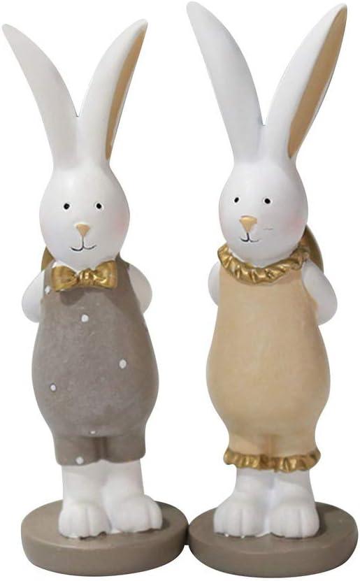 Rabbit Bunny Ornaments Micro Landscape Figurine Resin Craft Decoration