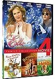 Elle/Alice's Adventures in Wonderland/New Adventures of Heidi/The Borrowers - 4-pack