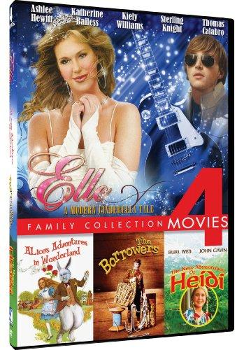 Elle/Alice's Adventures in Wonderland/New Adventures of Heidi/The Borrowers - - Stores Mills In Katy