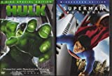 Hulk , Superman Returns : Superhero 2 Pack