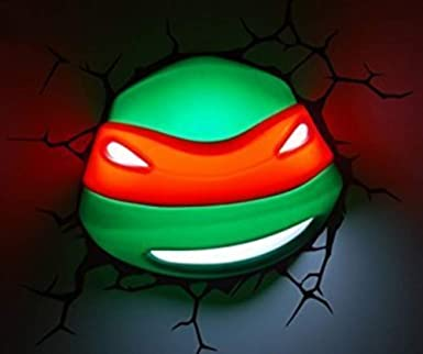 3D~~luz Alutruss Teenage Mutant Ninja Turtles /~~parece ...