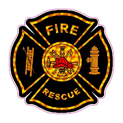 - Nostalgia Decals Fire Rescue Decal 5