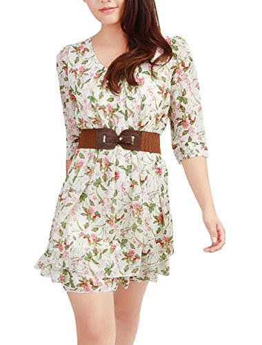 Buy belted a line dress - 3